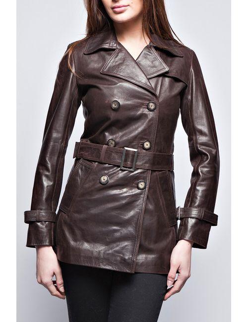 John & Yoko | Женская Коричневая Куртка