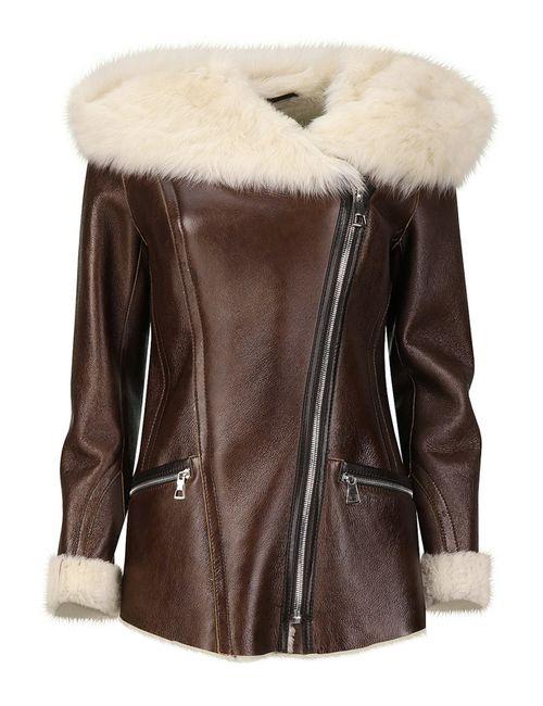 La Reine Blanche | Женская Оранжевая Куртка