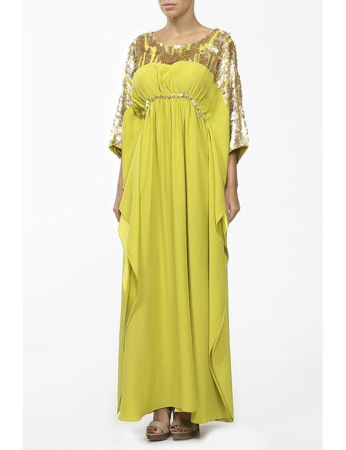 JOSIE NATORI COUTURE | Женское Жёлтое Платье