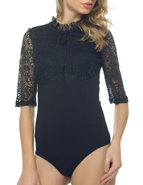 Arefeva | Женское Чёрный Блуза-Боди