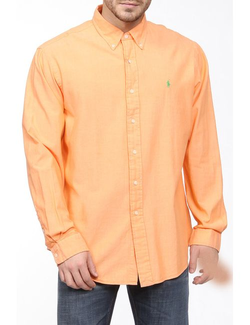 Ralph Lauren | Мужская Оранжевая Сорочка