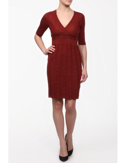 Missoni | Женское Оранжевое Платье Вязаное