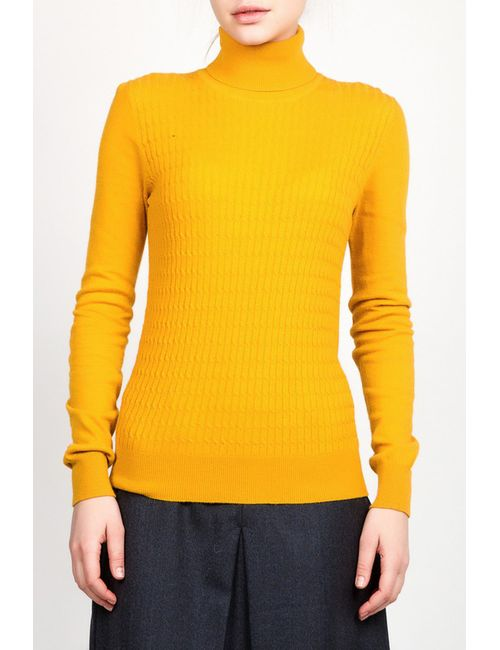 Tom Farr | Женская Жёлтая Водолазка