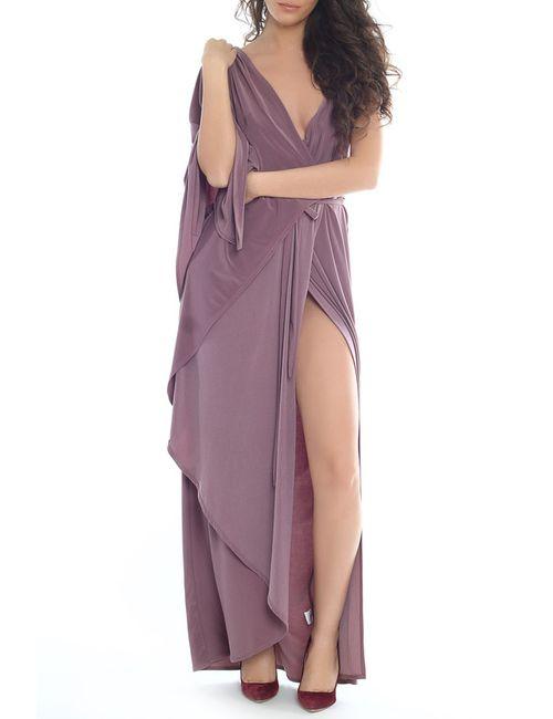 Moda Di Chiara   Женское Фиолетовое Платье