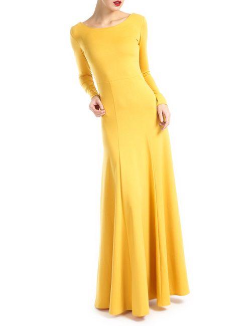 MBYMAIOCCI | Женское Жёлтое Платье