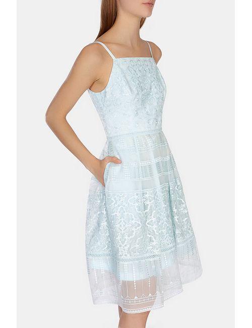 Karen Millen | Женское Синее Платье