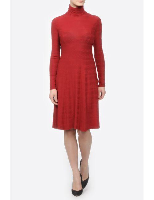 Yetonado | Женское Красное Платье Водолазка