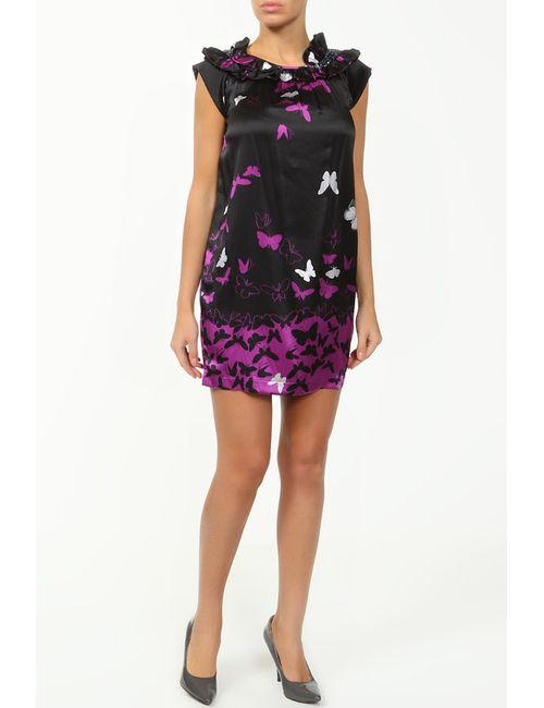 Cool Air | Женское Фиолетовое Шелковое Платье