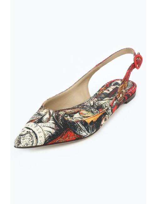 Dolce & Gabbana | Женские Красные Босоножки