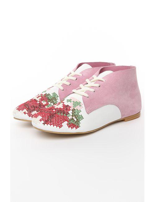 Tucino | Женские Белые Закрытые Туфли