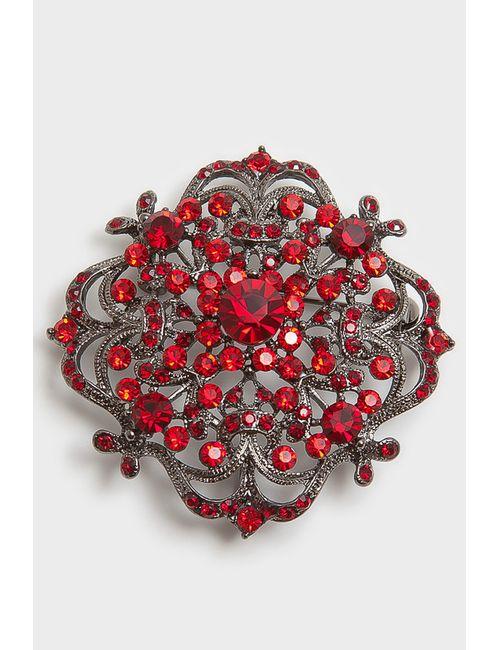 Asavi Jewel | Женская Красная Брошь