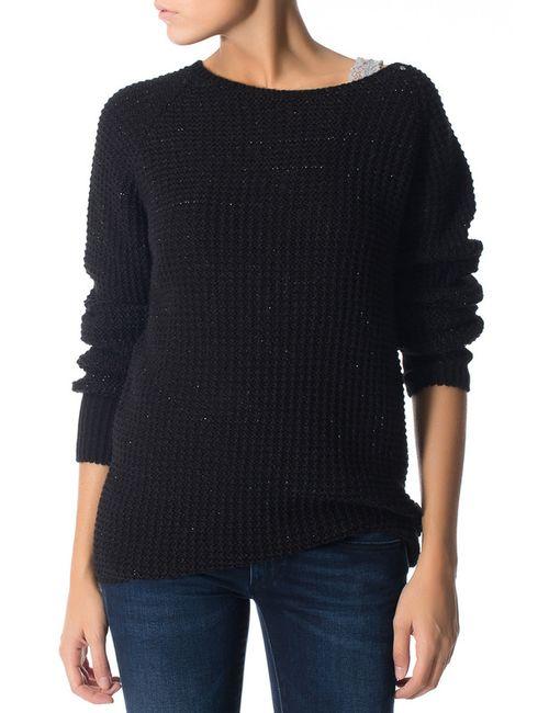 Gas | Женский Чёрный Пуловер