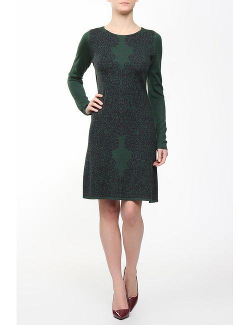 ARMANI JEANS | Женское Зелёное Платье