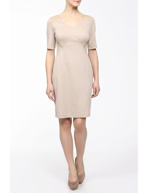 M&L Collection | Женское Бежевое Платье