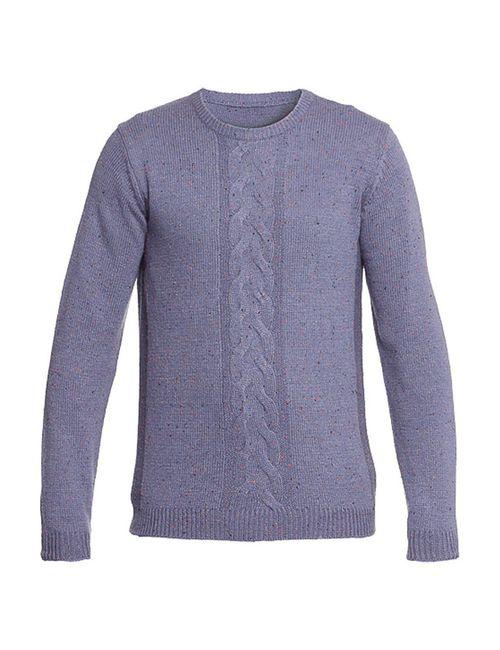 Troll   Мужской Фиолетовый Пуловер
