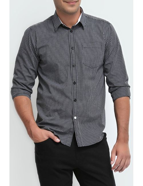 Troll | Мужская Черный Рубашка