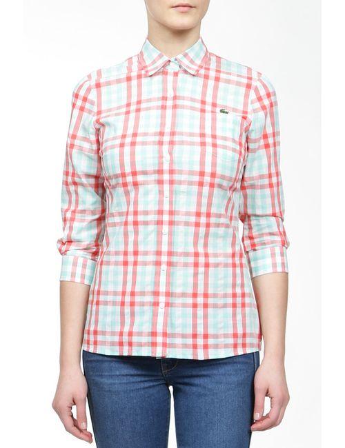 Lacoste | Женская Многоцветная Рубашка