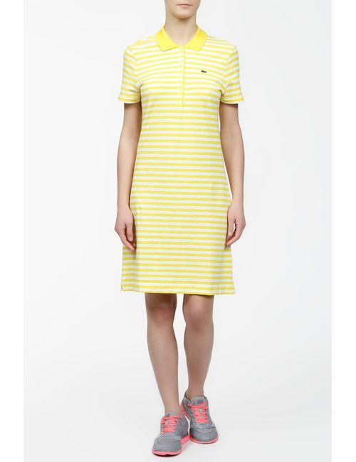Lacoste | Женское Белое Платье