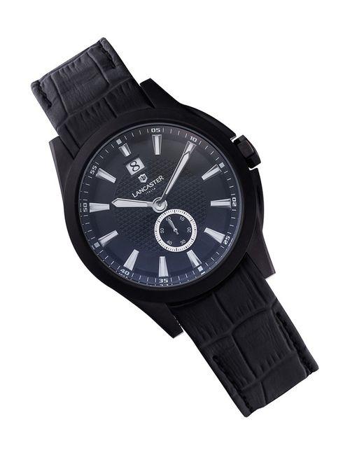 Lancaster | Мужские Чёрные Часы