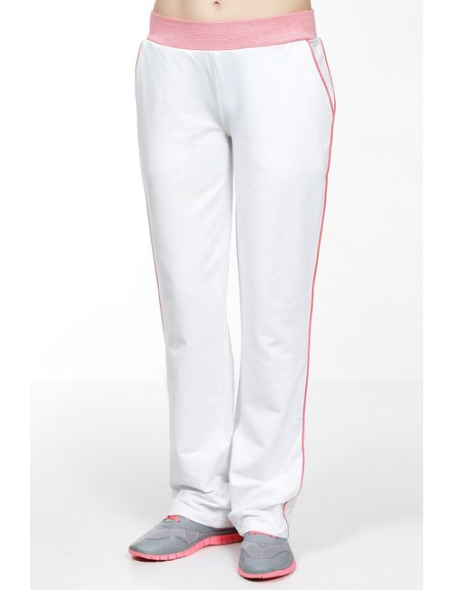 Lacoste | Женские Белые Спортивные Штаны