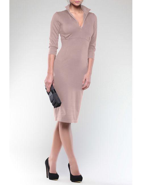 Maurini | Женское Бежевое Платье