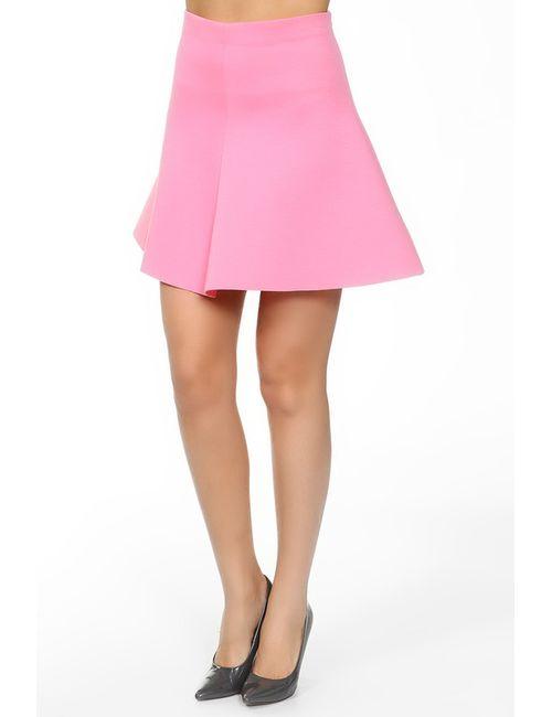 Valentino Red | Женская Розовая Юбка