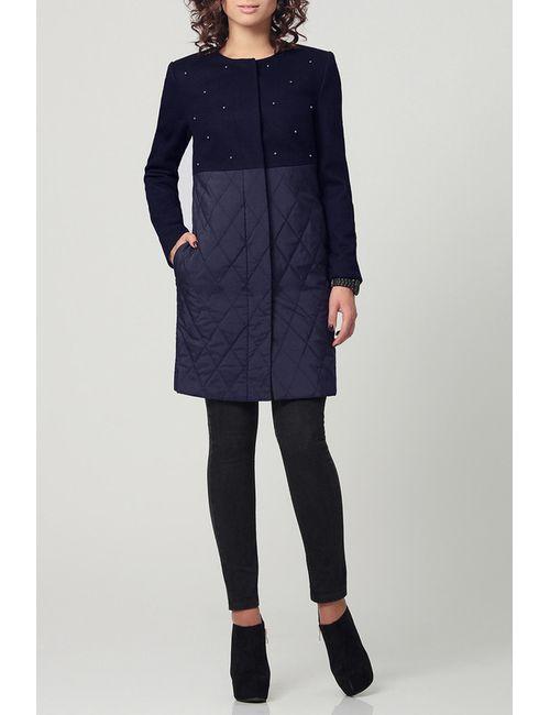 PRIO | Женское Синее Пальто