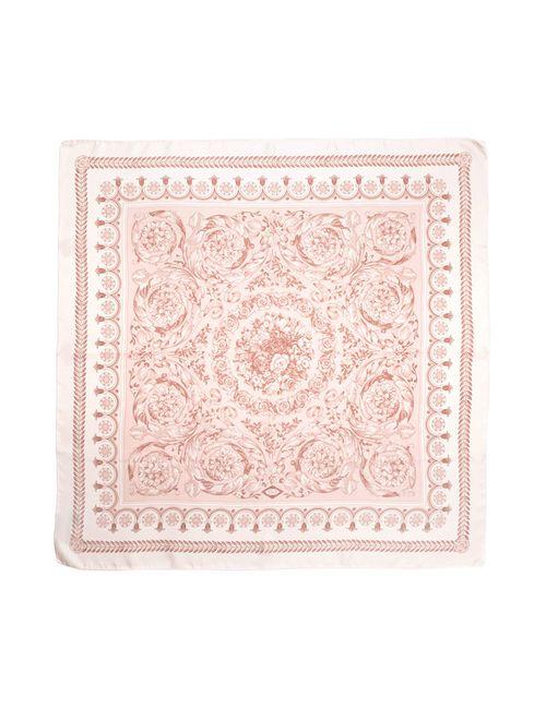Versace   Женский Розовый Шарф