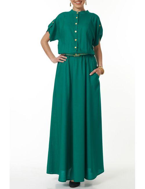 Argent | Женское Зелёное Платье