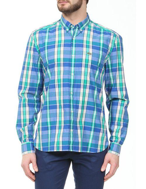 Lacoste | Мужская Зелёная Рубашка