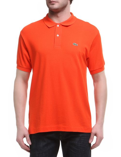 Lacoste | Мужское Оранжевое Поло