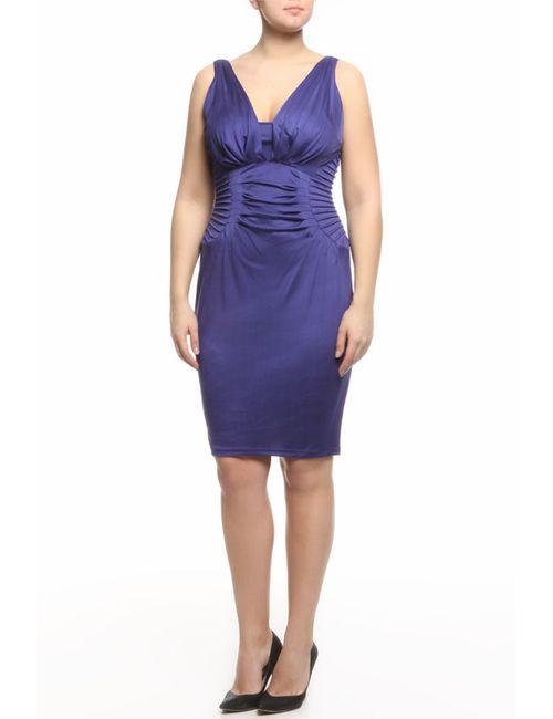 Catherine Malandrino | Женское Синее Платье Джерси