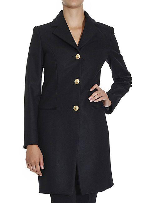 Love Moschino | Женское Чёрное Пальто