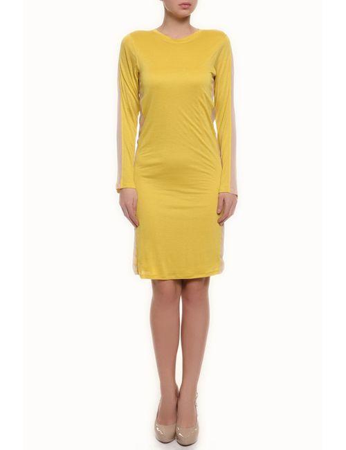 Reed Krakoff | Женское Жёлтое Платье Джерси