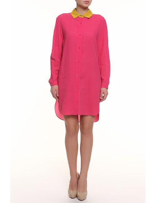 Carven   Женское Розовое Платье