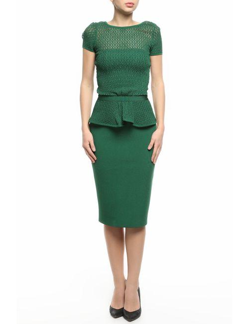 Oscar de la Renta | Женское Зелёное Платье