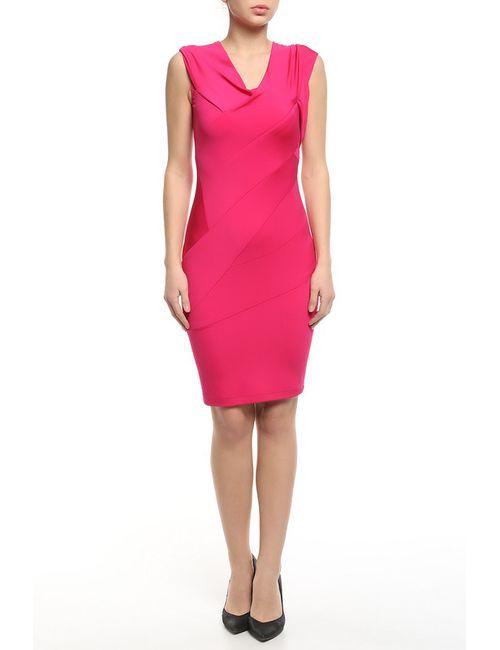 Donna Karan | Женское Розовое Платье