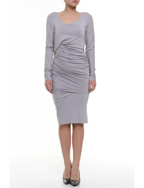 Donna Karan | Женское Серое Платье Джерси