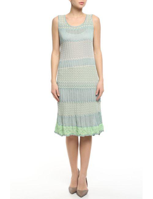 Blumarine | Женское Зелёное Платье 2 Предм.