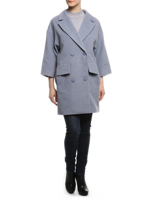 Doctor E | Женское Голубое Пальто