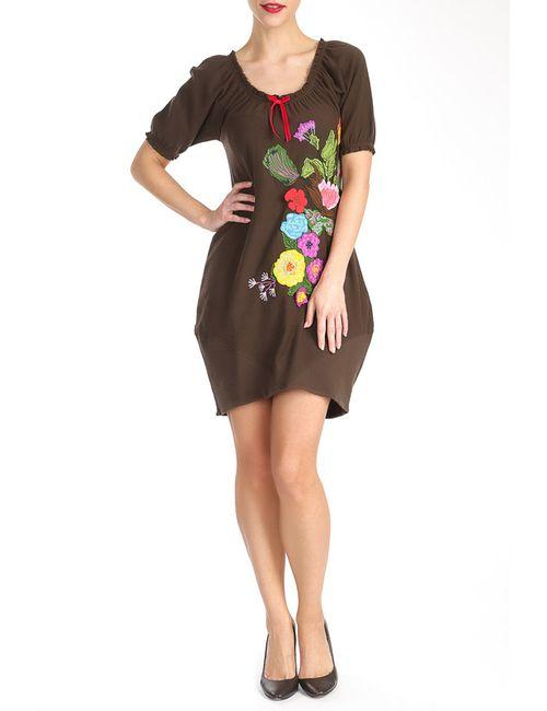 MAMATAYOE | Женское Многоцветное Платье