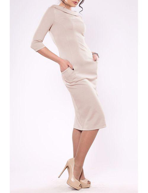 Laura Bettini | Женское Бежевое Платье