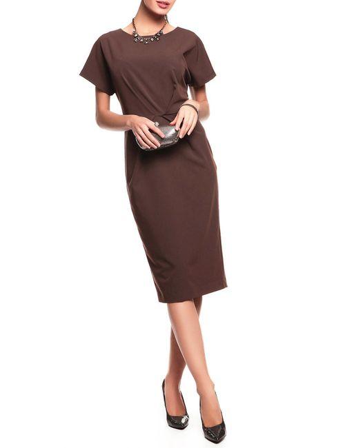 Disetta | Женское Коричневое Платье