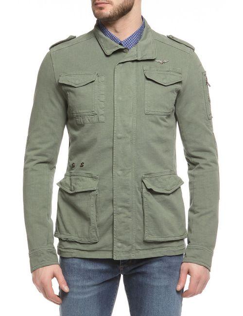 Aeronautica Militare   Мужская Зелёная Куртка
