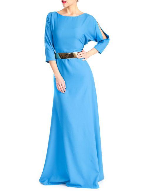 MBYMAIOCCI | Женское Синее Платье
