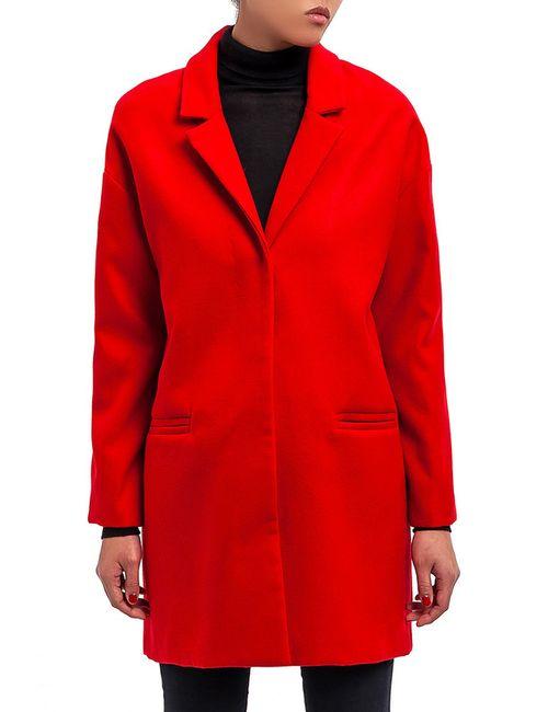 DIBYE | Женское Красное Пальто