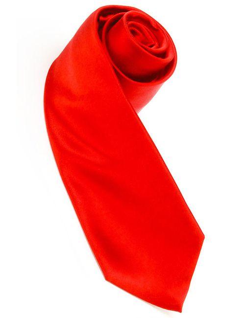 Mondigo   Мужской Красный Галстук