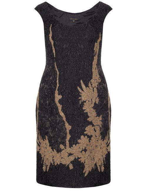 Escada | Женское Чёрное Платье