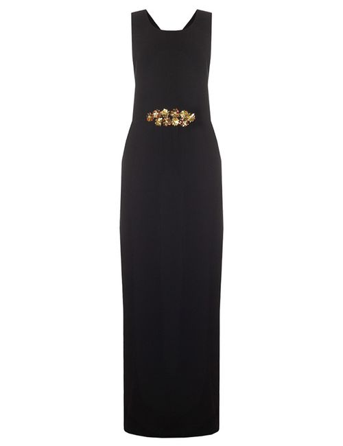 Tory Burch | Женское Чёрное Платье