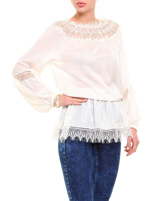 Blumarine | Женская Белая Блуза